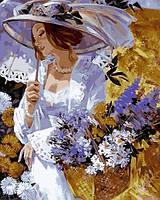 Картины по номерам 40×50 см. Отцвели уж давно хризантемы Художник Алексей Лашкевич