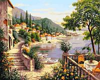 Картины по номерам 40×50 см. Лазурный берег