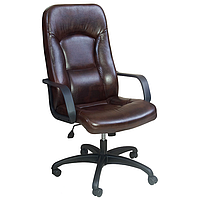 Кресло для руководителя Торонто Пластик Мадрас дк браун