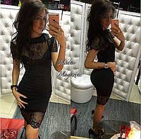 Женское платье с трикотажа утяжка