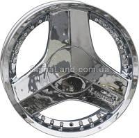 Литые диски RS Wheels 617 CRV 7.5x18/4x100/ D73.1 ET40 (Chrome)