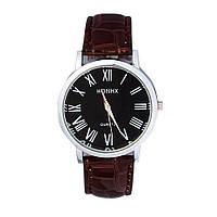 Часы мужские наручные Monk brown (коричневый)