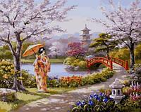 Картины по номерам 40×50 см. Утро в парке Художник Сунг Ким, фото 1