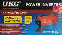 Преобразователь - инвертор UKC AC/DC AR 4000W 12-220V