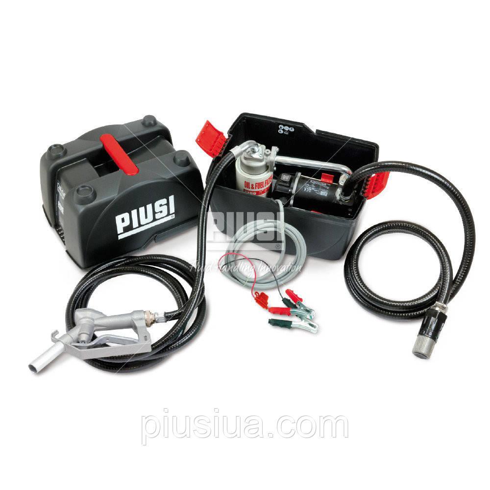 Мобильный заправочный модуль PIUSI BOX 24V PRO 45, 260, BP 3000, 12, донный, с обратным клапаном