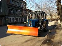 Отвал коммунальный передненавесной ОК 2,5 с гидравлическим поворотом (ширина 2500 мм) Агромет-Сервис