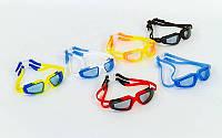 Очки, беруши для плавания с застежкой SEALS HP-8600