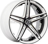 Литые диски RS Wheels 173J AWTB 8.5x18/5x108 D73.1 ET38 (All White Toward Black)