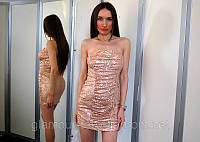 Платье As U Wish пудра  (XS/S)