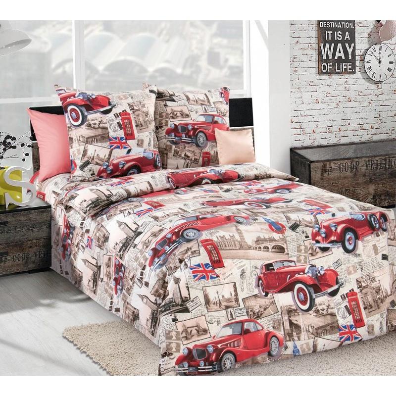 Постельное белье Ретро 3Д бязь ТМ Царский дом в кроватку