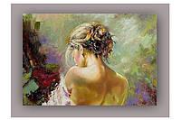 Светящиеся картина Startonight Девушка Пейзаж Печать на Холсте Декор стен Дизайн дома Интерьер