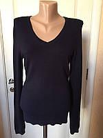 Свитер кофта  женский темно-коричневого цвета S.Oliver длинный рукав осень зима