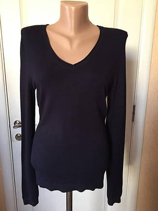Свитер кофта  женский темно-коричневого цвета S.Oliver длинный рукав осень зима, фото 2