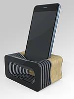 """Акустическая подставка """"Acoustic"""" для смартфона  черный"""