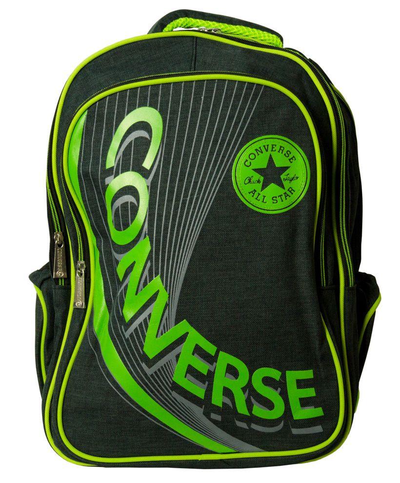 Рюкзак Bag Converse 1 green, зелений/чорний 18 л Копія