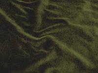 Трикотаж велюровый х/б (хаки) (арт. 05409) отрез 0,95 м