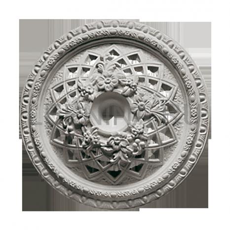 Розетка потолочная из гипса р-3а Ø340