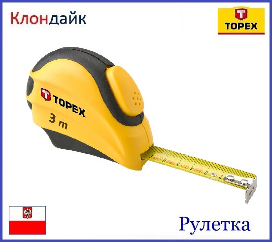Рулетка TOPEX 27C383