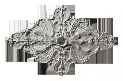 Розетка потолочная из гипса р-9 830х530