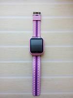 Дитячі Smart годинник Q100S Рожеві (Оригінал) GPS, Wi-Fi, сенсор, фото 1