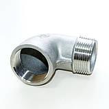 Колено резьбовое нержавеющее вн/нар G11/4' AISI304 Ду32, фото 8