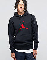 Кенгурушка Jordan, черная с большой эмблемой
