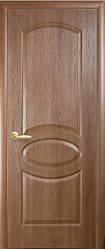 Модель Фортіс ПВХ Вільха Преміум овал без скла Р1 міжкімнатні двері, Миколаїв