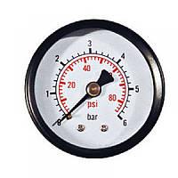 Манометр осевой (Аксиальный) 63мм/0-100 бар (Италия)