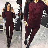 Женский модный вязаный костюм: свитер и брюки (3 цвета), фото 3
