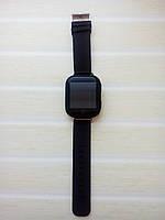 Детские Smart часы Q100S Черные (Оригинал) GPS, Wi-Fi, cенсор