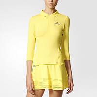 Яркий лонгслив женский для тенниса adidas by Stella McCartney Barricade BK7847 - 2017