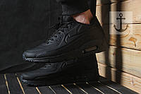 Мужские кроссовки Nike Air Max 90 Ultra Moire All Black