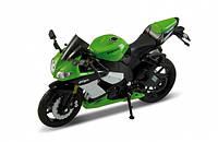 Мотоцикл фирмы Welly Kawasaki Ninja ZX-10R Масштаб 1:18