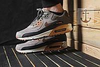 Мужские кроссовки Nike Air Max 90 Gray/Black
