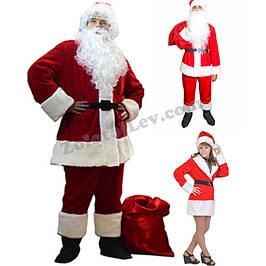 Прокат костюмів Санта Клауса