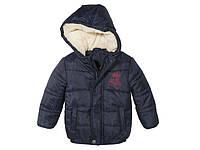 Куртка для мальчика синяя Lupilu р.92