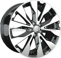 Литые диски Replay SB25 BKF 7.0x17/5x114.3 D56.1 ET55 (Black Full Polish)