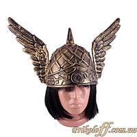 Шлем Викинга с крыльями бронза