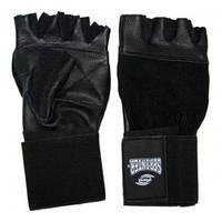 Перчатки атлетические с широким напульсником. XL.