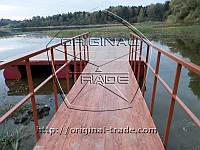 Изготовим понтон, рыбацкие мостики, дачные понтоны