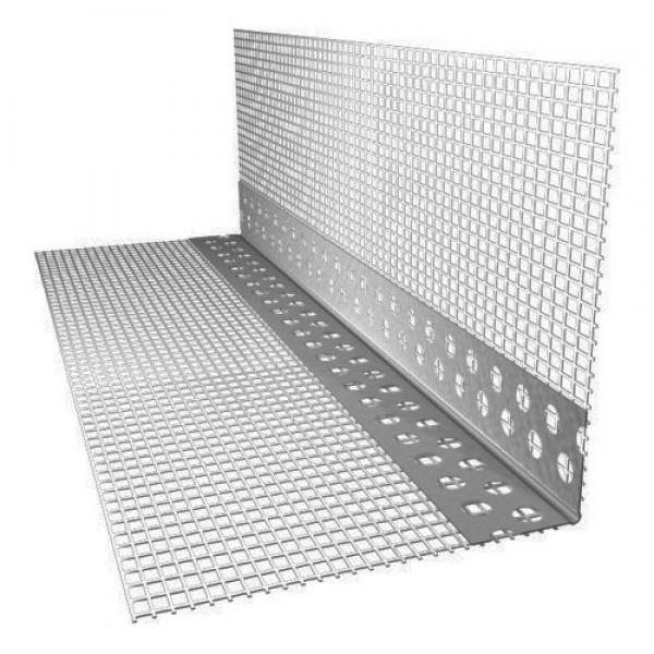 Профіль кутовий ПВХ із сіткою 145 гр/м2 3 м пог 10смх10см