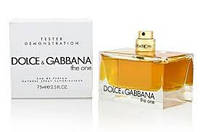 Тестер без крышечки Духи женские Dolce&Gabbana The One ( Дольче энд Габбана Зе ван)