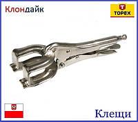 Клещи сварочные TOPEX 32D458