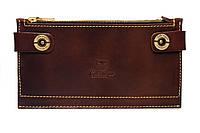 Багатофункціональний гаманець Twin brown вмістить все найнеобхідніше