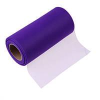 Фатин Фиолетовый Сетка 15 cм 10 метров