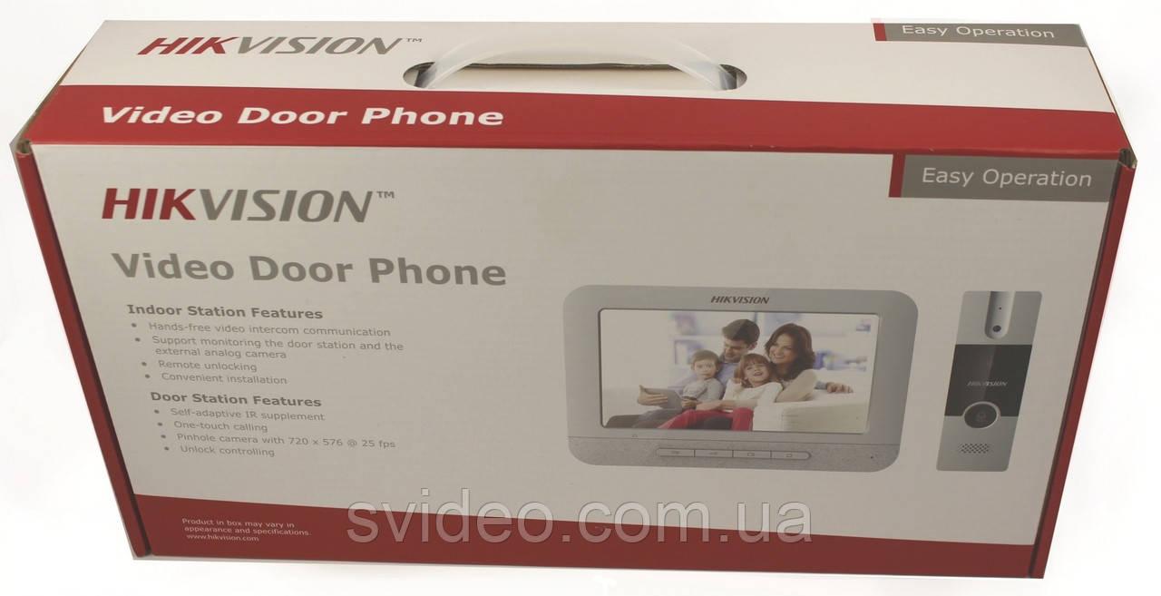 Комплект домофон панель Hikvision DS-KIS201, комплект домофон вызывная панель hikvision ds kis201