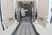 Автомобиль для перевозки инвалидов колясочников
