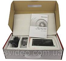 Комплект домофон панель Hikvision DS-KIS201, комплект домофон вызывная панель hikvision ds kis201, фото 2