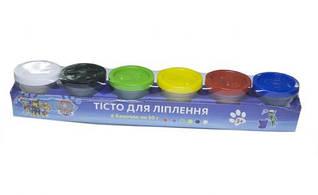 Тесто-пластилин 1009А (6цв.по 50гр.), 1009Щ