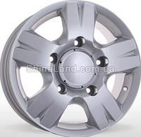 Литые диски Storm W-604 S 6.5x16/5x130 D84.1 ET55 (Silver)